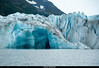 Face of Spencer Glacier
