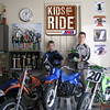 """""""My sons Jacob, 9 and Lucas,11, are both card-carrying members of the AMA and hope that bill H.R. 412 will exempt kid's dirtbikes from that 'dumb' lead law.'Kids just wanna ride!'"""" - Dave Barclay"""