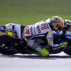 """""""I took this photo of Rossi during 2009 Indy Moto GP Saturday Qualifications. I found a nice spot that allowed me to focus through the fence. Took a lot of searching to find it. I've got a few shots, but am happy with this one of the Doctor."""" - John Langston of Edmond, Okla."""
