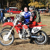 """""""Brothers Ron and Kevin Porteous preparing for the Wilseyville Hare Scrambles, November, 2009. You're NEVER too old!"""" - Ron Porteous of Elverta, Calif."""