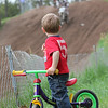 """""""My son, Luc, watching a Pro-Am at Pine Ridge Raceway in Athelstane, Wis., wishing he was on the track."""" - Jake Gervais of Marquette, Mich."""