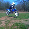 """""""My son, Deegan Cooley, practicing. He is 4 years old and started racing at Byron MX in Illinois. Three races so far 9th-, 7th- and a 3rd-place finish in his last race. He races in the 4-8 year-old auto class."""" - Thom Cooley of McHenry, Ill."""