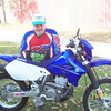 """""""This is me, Danny D. in '83 on a YZ! Now I'm 39 and trail riding suits me fine, an AMA member the whole time!"""""""