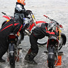 """""""The riders in the enclosed photo went on to win first and second place in the 86-200 Open Class on Jan. 31, 2010. It is the first year for both riders."""" - Bradley and  Kimberly Branda of Standish, Mich."""