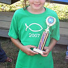 """""""My 10-year-old daughter, Sierra Brynn Walts, after taking 1st overall in the mud."""" Thomas Walts of Dexter, N.Y."""
