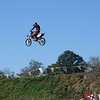 """""""My son, Kris, at a local dirt track going over a 70-foot tabletop."""" - Dale Jones of Vestal N.Y."""