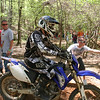 """""""This pic is from my last GNCC race at Big Buck in Union, S.C. Racing wouldn't be the same without your friends pointing the way across the creek."""" - Zach Pruitt of Boiling Springs, S.C."""