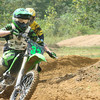 """TY Brakefield #33 From Hayden, Ala., on his brand new KX250fi 2011  """"sweet 16 birthday present."""" Got the bike Sept. 7, 2010. He wanted a new KX250 instead of a vehicle. Ty races in the Alabama State Series Championship Series. He was racing his first race with his new 2011 KX250fi at Outlaw MX where he got the holeshot and led most of the race and ended up 2nd overall on his new bike. Ty was hitting the triple that no one else in his class was hitting. Ty chose a motocross bike over a vehicle."""" - Tammy  Brakefield of Warrior, Ala."""