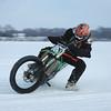 """Craig Dye hanging out at the lake during a long Minnesota winter."" - Photo by Robert Metz of Maple Lake, Minn."