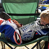 """""""Bryce Anderson (age 5) between motos at Euro Raceway, Nashville, Ill."""" - Trey Andeson of Carbondale, Ill."""