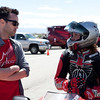 "(L-R: John Hensley, Roland Sands) ""Friends and family converged on Streets of Willow Raceway in Rosamond, Calif., for an Alpinestars 'Day at the Track.' David Kennedy and Atom Willard from the band Angels & Airwaves, John Hensley from TV's Nip/Tuck, Chris Killmore from Incubus, Tim Kang from TV's The Mentalist and Roland Sands were among the friends that came out to take on the technical track at Streets of Willow. Whether it was blasting up the front straight or taking on the bowl in turn 8, everyone was out to enjoy a great day of riding. Of course, what event wouldn't be complete without some of Alpinestars' finest joining in the mix. John Hopkins and Chaz Davies stopped by to cheer on our guests, while up-and-coming Supercross star Max Anstie got in on some Streets of Willow fun."" - Alpinestars"