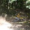 """""""My first hare scramble race, which i did not finish due to falling in a pricker bush. It was a great time and everyone at the track was very friendly. I'm 15 and my dad took this photo of me in the woods. The race was at Battle Creek, Mich."""" - Pat Neiman of Alto, Mich."""