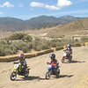 """""""This is a picture of our three boys on the mini-track at Hungry Valley OHV Recreation Area in California. Big brother, Victor (8) is following is twin brothers, Caesar (6) and Vincent (6)."""" - Paul Rinaldi of Carpinteria, Calif."""