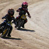 """""""My son, Theo (#64), and buddy, Gauge Turner, at Paradise Speedway (flattrack)  in Geneva N.Y. First year of racing for Theo."""" - Guy Storrs of Williamson, N.Y."""