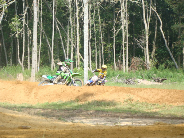 """""""TY Brakefield #33 From Hayden, Ala.,on his brand new KX250fi 2011 """"sweet 16 birthday present."""" Got the bike Sept. 7, 2010. Hewanted a new KX250 instead of a vehicle. Ty races in the Alabama State Series Championship Series.He was racing his first race with his new 2011 KX250fi at Outlaw MX where he got the holeshot and led most of the race and ended up 2nd overall on his new bike.Ty was hitting the triple that no one else in his class was hitting.Ty chose a motocross bike over a vehicle."""" - Tammy Brakefield of Warrior, Ala."""