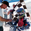 Daniel Lawson 80 Novice first win in the desert, MRANN race, Doyle Calif., 2001. - Blake Lawson of Dixon, Calif.