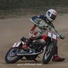 Dan Ingram on a 1949 Indian, Mid-America Marion County Fairgrounds, Indianapolis, Aug. 27, 2011. - Kurt Bauer