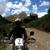 """""""Claudine on her Suzuki DR200, near Ouray Colo."""" - Lisa Martin"""