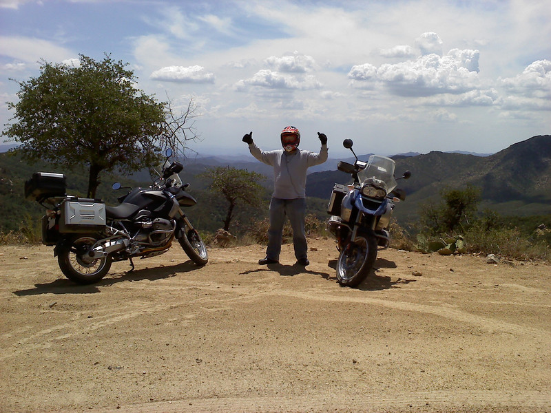 """This is on Senator Highway (40-mile dirt road) between Prescott and Crown King in Arizona. Great ride. - Charles Hammack"