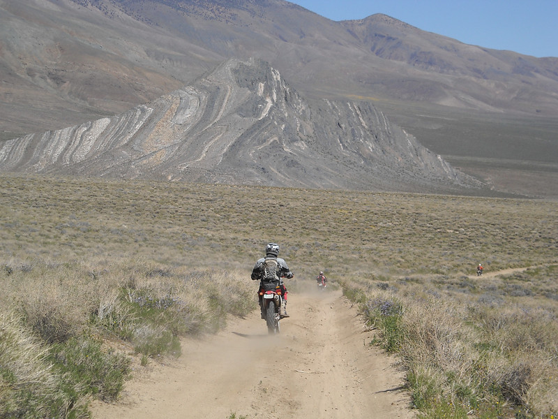 """I took this in Death Valley (in California) at a dual-sport ride in March of this year.  Me and three buddies of mine went out there from Oklahoma.  These are my three buddies"" - Jerry Bohannon, Coweta, Okla."