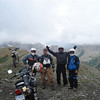 """""""South Carolina friends rode to the top of Mt. Tilton in Colorado this summer.<br /> Left to right: Robert Tanner, Mike Schultz, Pete Gaskins and Marvin Grant. All are AMA members."""" - Marvin Grant of Chester, S.C."""