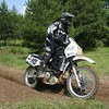 """""""Riding my KLR650 in the 40+ Ironman class at the Perry Mountain 24 Hour Challenge."""" - Allen Goodwin"""
