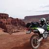 """""""My Kawasaki KLX400 outside Moab, Utah."""" - Matt Rosen of Madison, Wis."""