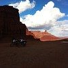 """""""Lisa and Claudine's bike's in Moab, Utah, at Thelma and Louise Point."""""""
