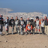 """""""We had a great time following this year's Dakar Rally for 12 days and 3,000 miles, by motorcycle. Us overlooking Iquique, Chile."""" - Chuck Brown of San Leandro, Calif."""