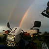 """Claudine's bike at Taylor Park Reservoir in Colorado. - Lisa Martin"
