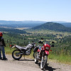 """""""My daughter Amber's very first dual-sport ride. Location; near Wolf Creek Pass, Colorado."""" - R. Carl Lee of Grapevine, Texas."""