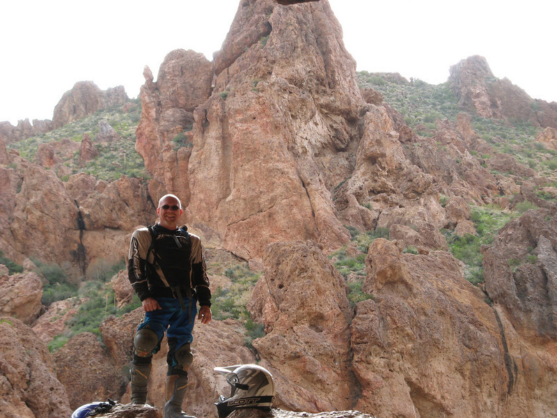 Near Box Canyon, outside of Florence, Ariz. -  Eddie Wright of Mesa, Ariz.