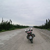 """A photo from my trip across the Trans-Labrador Highway this past August, on a 2006 Triumph Scrambler. About 1,000 kilometers of gravel roads in two days as part of a 6,500-kilometer round trip. - David Guthrie of Anherstburg, Ontario, Canada"