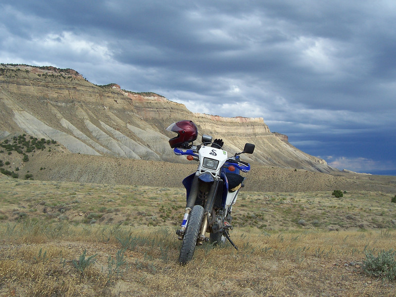 Book Cliffs at Grand Junction, Colo., on July 11, 2009. - Devin Biehler of Statesville N.C.