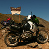Bradley Love's KLR 650 at Tin Cup Pass, Colo. - Bradley Love of Noblesville, Ind.