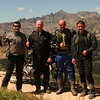 Stephan Gregoire, Perry Taylor, Bradley Love and Ashley Johnson at Taylor Pass, Colo. - Bradley Love of Noblesville, Ind.
