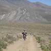 A dual-sport event in Death Valley, Calif. - Jerry Bohannon of Coweta, Okla.