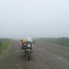 """""""In June and July of 2008 I rode round-trip from Miami, Florida to the Yukon and Northwest Territories in Canada, with several side trips into Alaska. The enclosed photos were taken along the Dempster Highway, which traverses the Arctic Circle on its way to Inuvik, NWT."""" - Pete Migli of South Miami, Fla."""