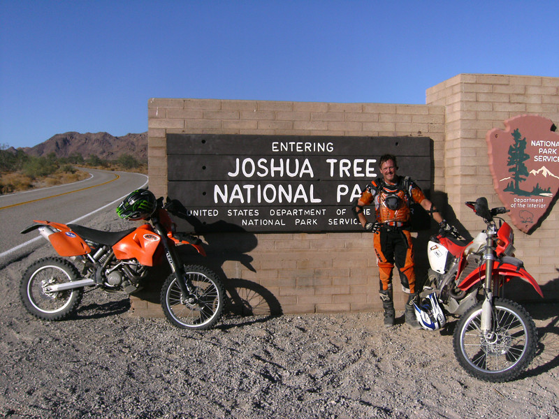 """""""Picture of myself in front of entrance to Joshua Park."""" - Dave Harlan of Yorba Linda, Calif."""
