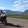 """This is one of my favorite pics from my recent 15,600-mile trip from Pennsylvania to Prudhoe Bay, Alaska. This is my '07 BMW R 1200 GS Adventure on the north slope of the Brooks Range <br /> about 150 miles above the Arctic Circle. The vistas were breathtaking!"" - Gary Christman of Kempton, Pa."