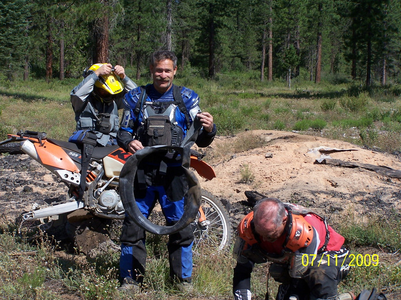 NorCal Dual Sport's KTM National Dual Sport Ride held<br /> July 11-12, 2009 at the Mount Shasta Ski Park in McCloud, Northern<br /> California. Photo by Russel Smith.