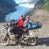 """""""Mike and Deb Herr on road trip from Lititz, Pa. to Anchorage, Alaska. Photo taken at Stewart, BC, Canada and Hyder, Alaska."""" - Mike Herr of Lititz, Pa."""