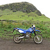 """""""My photos from a day of riding on Easter Island in the South Pacific. It rained on a off all day but it was a blast. It was a rental bike,  TTR 250 Yamaha, I rode over 160 kilometers that day."""" - Phil Hansen of Waterford, Mich."""