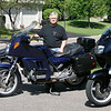 """""""The story is the tale of the three motorcycles and the coast-to-coast trips on each of them.  They have been life changing events: The first - coast-to-coast trip, in 1972, was on a 1972 Yamaha 650 XS-2. At left is a 1972 Yamaha 650 XS-2 identical to the one I rode from coast-to-coast. In the spring of 1972, the ride left Chicago area to Fort Lauderdale, Fla., then to San Francisco. I ended up staying on the west coast for 16 years.<br />  <br /> The last - coast-to-coast trip, in 2005, was done on my first BMW.  While living in California, I bought a new 1985 K100RT (the center motorcycle).  After traveling around the western United States, I married and moved to Minneapolis. Again, in the spring, 2005, I rolled the K100RT out of winter storage and took a three week trip from Minneapolis, to Fort Worth Texas, to San Diego and San Francisco up the Pacific Coast Highway, back to Texas and over Great Smokey Mountains and all the way to the Atlantic Ocean again.  From the Atlantic Ocean, I rode back to Minneapolis, covering 8,000 miles in three weeks of travel. The BMW finished the trip with 111,000 miles on the ticker.<br />  <br /> The next – coast-to-coast trip is in the planning stages. After returning from the trip in 2005, my mechanic at Moon Motors BMW advised the K100RT needed some work.  The estimate was large and Brian, the Service Manager found a very clean 1999 BMW R1100RT with very few miles.  To my surprise, my wife offered to buy it for me. Afterward, she """"fessed up"""" that I could pay her back with my MSF instructor income. Well, that was in 2005 and when asked if I have it paid off yet, her response is always, 'Almost.'"""" - Phil Holbo of Minneapolis"""
