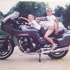 The first picture was taken on his CBX demo in 1981 or 1982. The second one was taken in 2002. - John Conley of Aurora, Ill.