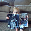 """""""Just  thought I'd let you see that my son, Chris Hoffman, and fellow AMA member, is raising his 16-month old son (and MY grandson!), Liam, the right way."""" - Floyd Hoffman of Wentzville, Mo."""