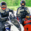 A couple of Redline Superbike Club members. - Steven Hauptman of Southfield, Mich.