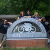 AMA and Durty Dabber members from Mill Hall, Pa., visiting the AMA Motorcycle Hall of Fame Museum. Lynn, Lana, Steve, Colleen, and Tommy. - Tommy Wise of Hill Hall, Pa.