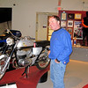 """""""My husband (Jim) and I were on a trip on our bikes from New Hampshire to Texas this fall. We stopped to see the AMA Motorcycle Hall of Fame Museum in Pickerington, Ohio.  In this photo he said 'Hey, I had a bike just like this one.'"""" - Jan Proctor of Enfield Center, New Hampshire."""