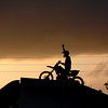 """Unknown stunt rider. Biketoberfest 2004"" - Jonathan Raymer of Smyrna, Ga."